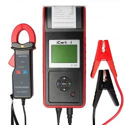 IC-700 Профессиональный тестер аккумуляторных  батарей (АКБ) 12/24V