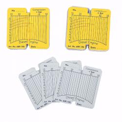 CT-Z011A1 Сменные карточки для дизельного компрессографа  CT-Z011 - 100 шт