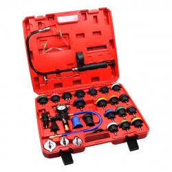 CT-N0133 Набор для проверки герметичности  системы охлаждения 28 предметов