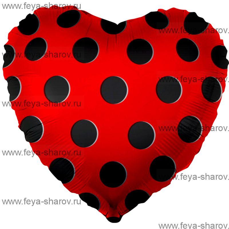 Шар Сердце 46 см