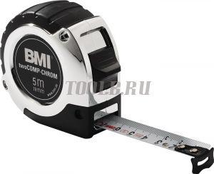 BMI twoCOMP CHROM 5M Измерительная рулетка
