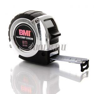 BMI twoCOMP CHROM 8M Измерительная рулетка