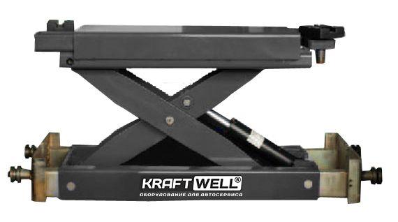 Траверса KraftWell KRWJ2N г/п 2000 кг. с ручным приводом