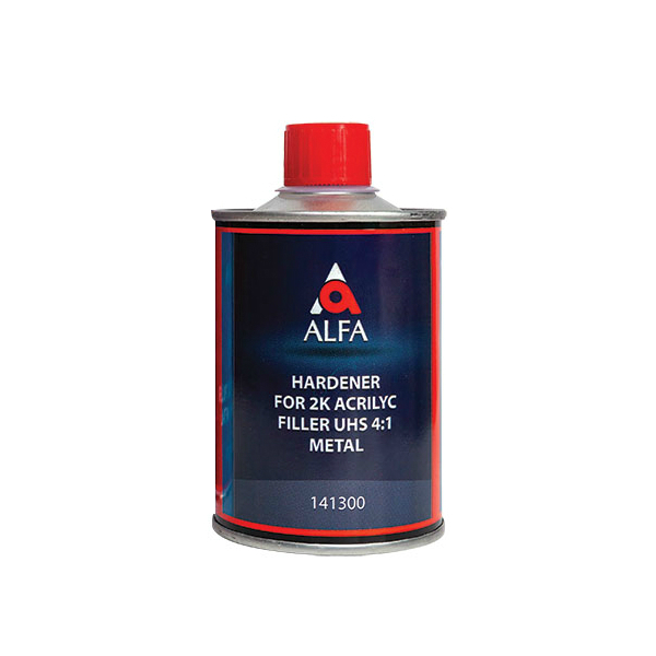 """Alfa Отвердитель к грунту-наполнителю """"на металл"""" 4:1 FILLER UHS, объем 200мл."""