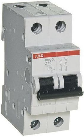 Выключатель автоматический ABB SH200 2п 25А C 4.5кА