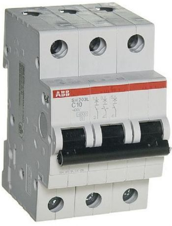 Выключатель автоматический ABB S200 3п 40А C 6кА