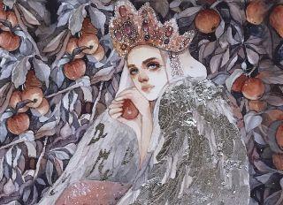 Почтовая открытка Сказочная царевна