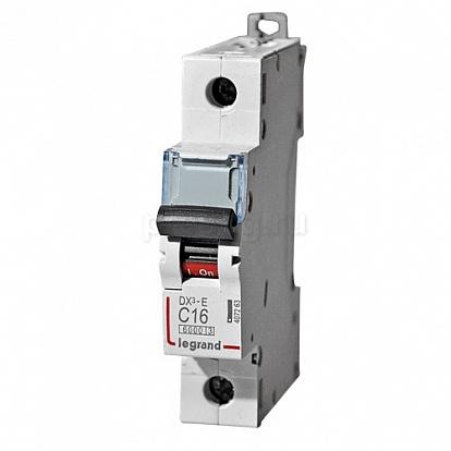 Legrand DX3-E Автоматический выключатель 1P 16А (С) 6000/6kA