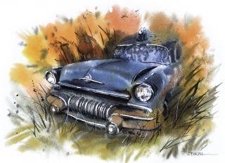 Почтовая открытка Старый вояка
