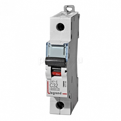 Legrand DX3-E Автоматический выключатель 1P 50А (С) 6000/6kA
