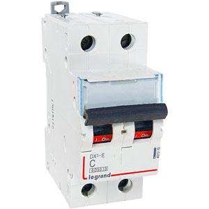 Legrand DX3-E Автоматический выключатель 2P 50А (С) 6000/6kA