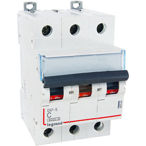 Legrand DX3-E Автоматический выключатель 3P 40А (С) 6000/6kA