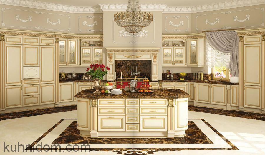 Кухня Ника д'Оро Бежевая