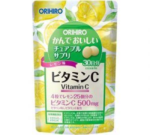ORIHIRO Витамин С на 30 дней (вкус лимона)