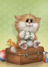 Postcard Suitcase