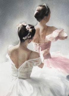 Postcard Ballet motive