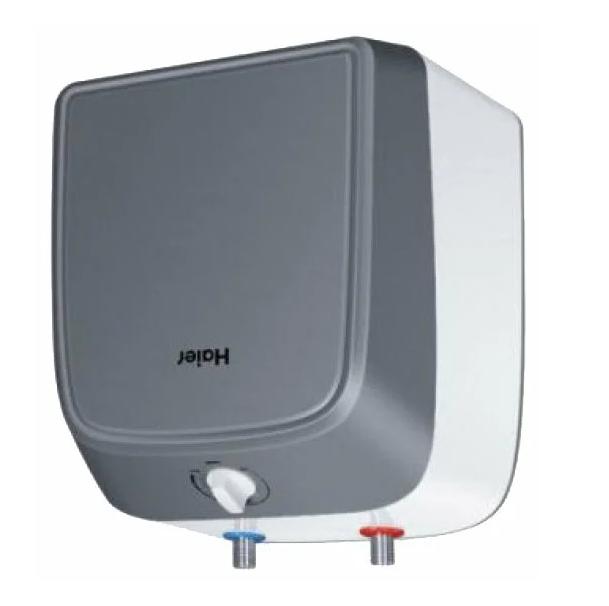 Накопительный электрический водонагреватель HAIER ES10V-Q1(R) над мойкой
