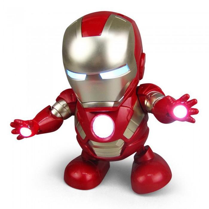 Роботы танцующие персонажи Marvel со светом и звуком в ассортименте