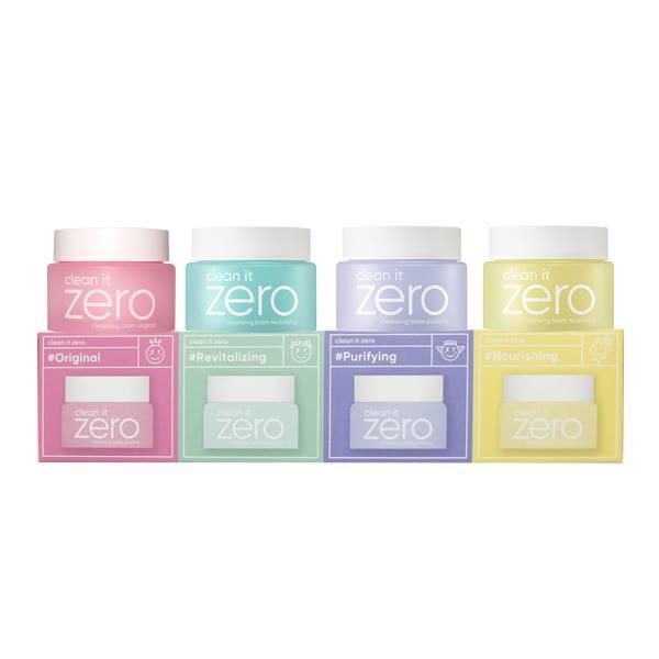 Набор миниатюр очищающих бальзамов BANILA CO Clean it Zero Special Kit