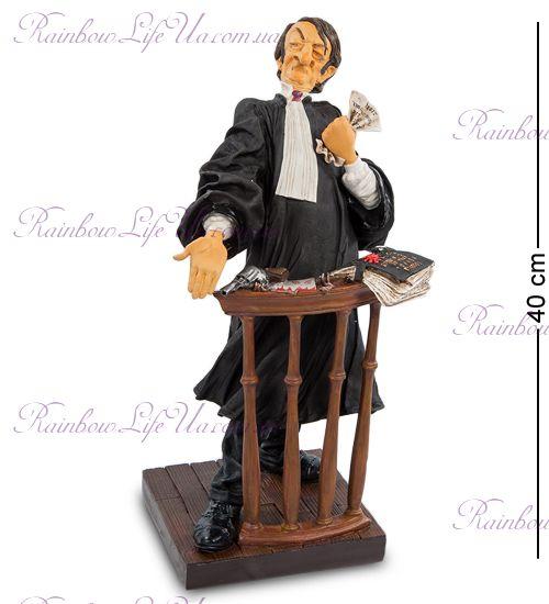 """Статуэтка адвокат 85501 """"The Lawyer. Forchino"""""""