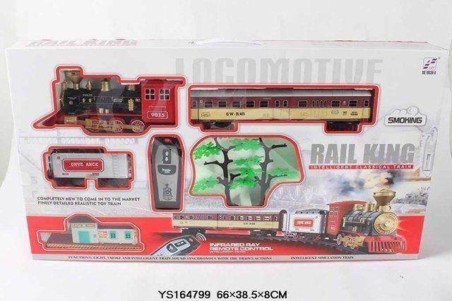 Железная дорога Rail King р/у19038-6 с дымом