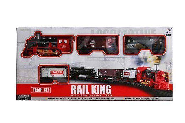Железная дорога Rail King 19030-6