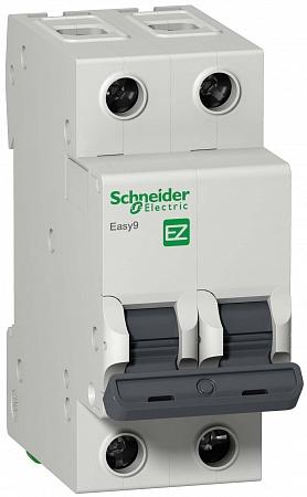 SE EASY 9 Автоматический выключатель 2P 63A (C)