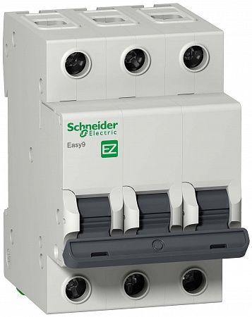 SE EASY 9 Автоматический выключатель 3P 63A (C)