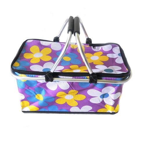 Термокорзина для пикника и покупок, 29 л, Цвет Фиолетовый