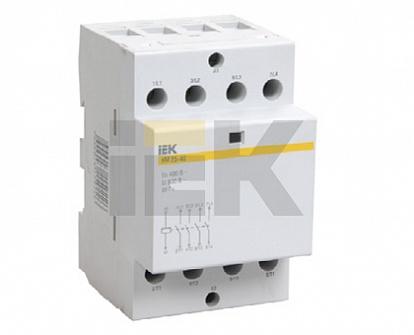 IEK Контактор модульный КМ63-40 AC/DC
