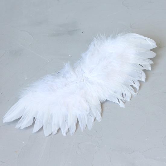 Кукольный аксессуар Крылья-ангела белые
