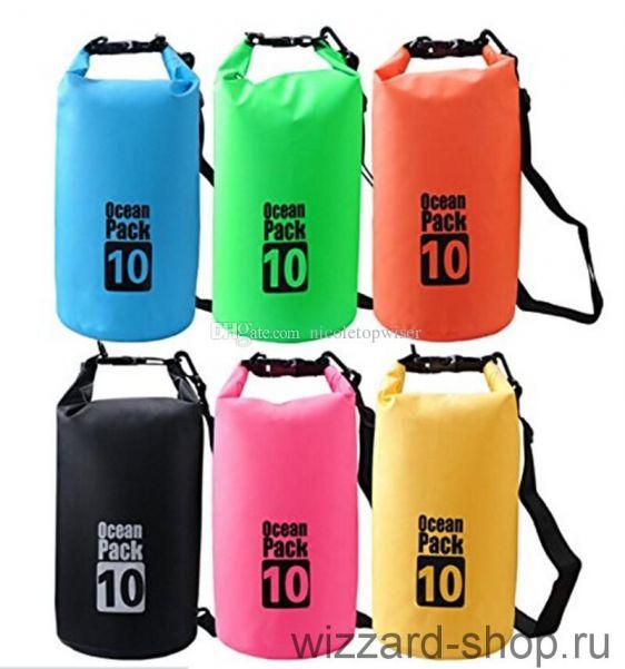 Водонепроницаемая сумка-мешок Ocean Pack 10 л