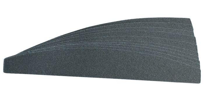 """Сменные картриджи для пилочки-основы """"лодочка"""", 100 грит / 10 шт, черные   SOFIPROFI"""