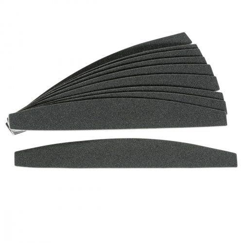 """Сменные картриджи для пилочки-основы """"лодочка"""", 240 грит / 10 шт, черные      SOFIPROFI"""