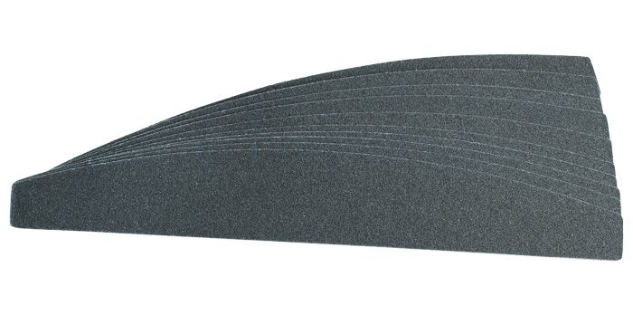 """Сменные картриджи для пилочки-основы """"лодочка"""", 360 грит / 10 шт, черные     SOFIPROFI"""