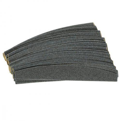 """Сменные картриджи для пилочки-основы """"лодочка"""", 100 грит / 50 шт, черные  SOFIPROFI"""