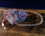 """Позолоченный браслет, плетение """"бисмарк"""", 5 мм (арт. 2502421)"""