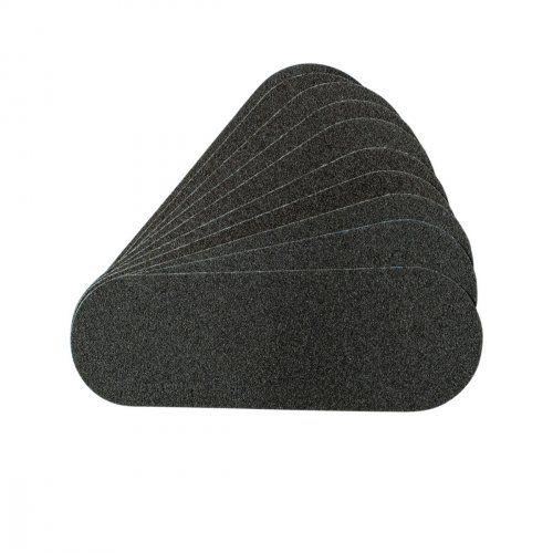 Сменные картриджи для пилочки-основы педикюрной черные, 180 грит / 10 шт  SOFIPROFI