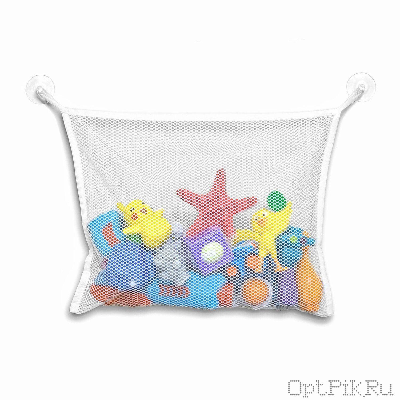 Сетка для игрушек на присосках