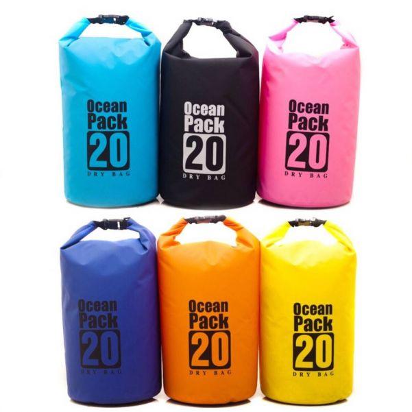Водонепроницаемая сумка-мешок Ocean Pack 20 л