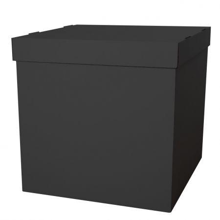 Коробка для надутых шаров 60*60*60 см,  цвет Черный