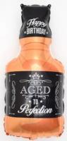 "Шар с гелием Фигура Бутылка Виски 32""/81 см"