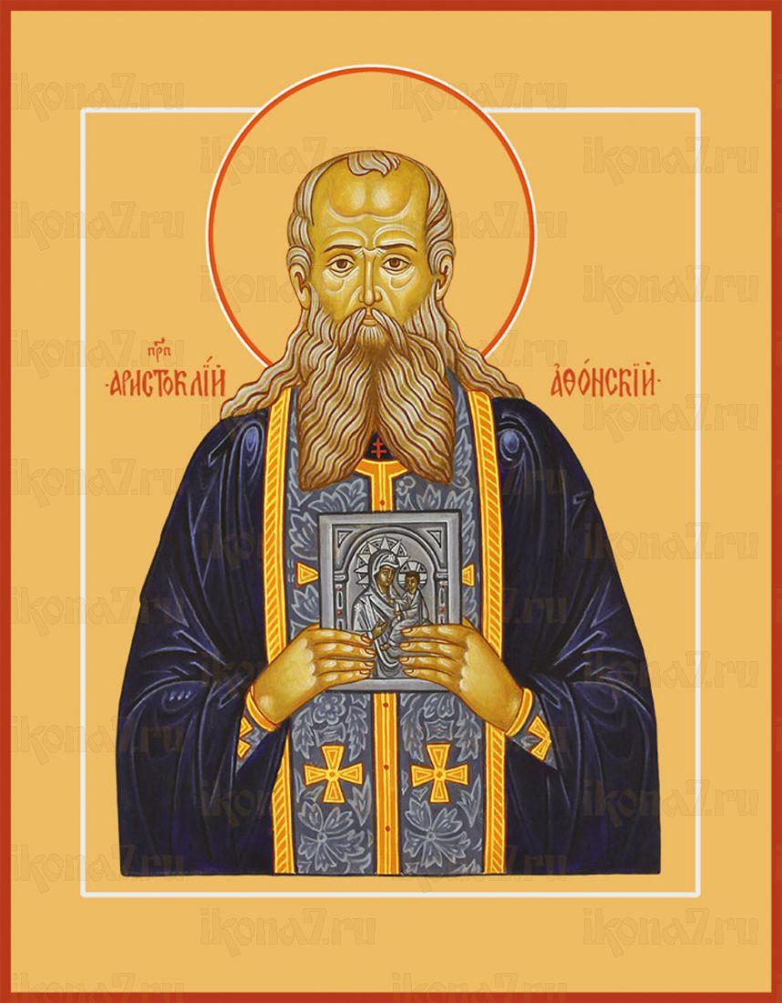 Икона Аристоклий Афонский преподобный