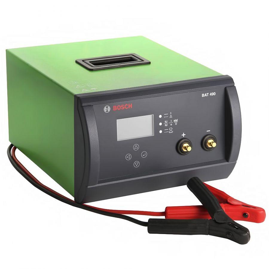 0687000049 BOSCH BAT 490 - Зарядное устройство для  АКБ 12/24 V 0687000049