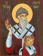 Икона Спиридон Тримифунтский святитель