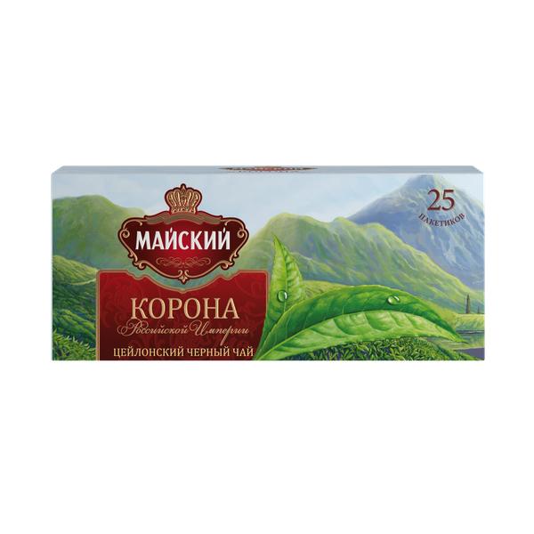 Чай Майский Корона российской империи 25пак*2г