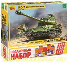 "3524ПН Советский  танк ""Ис-2"""