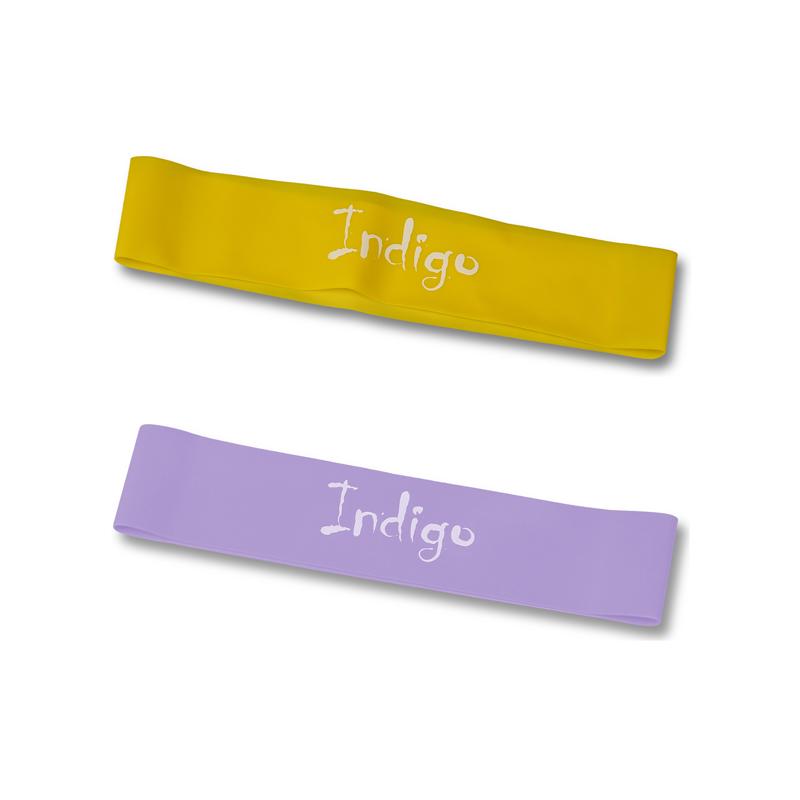 Эспандер лента латексная замкнутая INDIGO LIGHT (2-5кг) 6004-1 HKRB