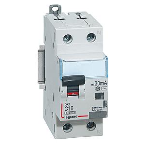 Legrand DX3 Дифференциальный автоматический выключатель 1P+N 32А (С) 30MA-AC