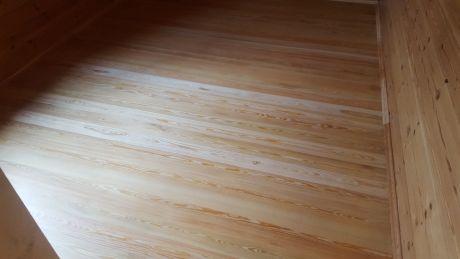 Циклевка половой доски (сошлифовывание ступенек не более 1 мм на доске из сосны/ели) кв.м.